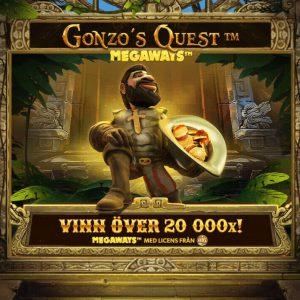 Speltips inför helgen – Spela Gonzo's Quest Megaways med 117 649 vinstvägar!